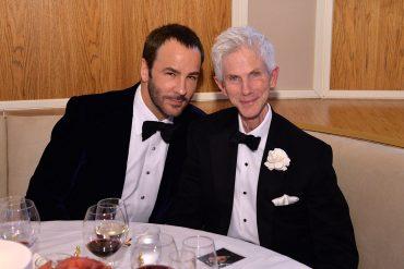 Том Форд и Ричард на годишнина от срещата си. Двамата са заедно 35 години