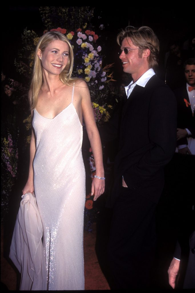 Paltrow and Brad Pitt
